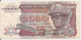 Zaïre 1991 2000 Zaïres Très Bon état - Zaïre