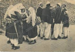SHKODER, SCUTARI, COSTUM ZADRIMA, Old Postcard