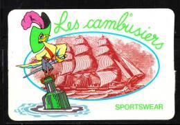 """Autoadesivo  """" Les Cambusiers """".  Sportswear.  Veliero. Sailing Ship - Boats"""
