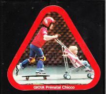 """Autoadesivo    """" Gioia  Chicco """".  Bimbo E Skateboard.  Originale - Sport"""