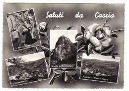 Saluti Da Cascia  Viaggiata Anni 60 COD.C.1398 - Italia