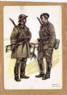 Uniforme Costumes Militaires Belges 1940 Cycliste Frontière - Guerre 1939-45