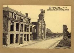 Ruines De Guerre Ypres Ieper église St-Nicolas Rue G. De Stuers - War 1914-18
