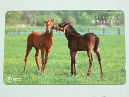 PAARD - HORSE - CHEVAL ( NTT Japan ) ! - Chevaux