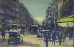 CPA Marseille: La Rue  Noailles. - Canebière, Centro