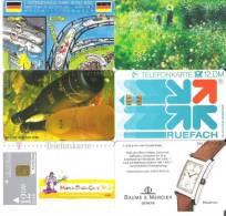 Telefonkarten / Lot Mit 6 TK  Gebraucht  ( 16 ) - Telefonkarten