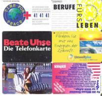 Telefonkarten / Lot Mit 6 TK  Gebraucht  ( 20 ) - Telefonkarten
