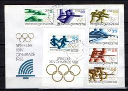 D.D.R.1988, Jeux Olympique à Séoul, 2796 / - Zomer 1988: Seoel