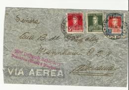 =Argentina  1933 Brief Nach DE - Argentinien