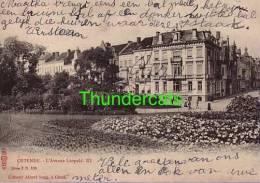 OOSTENDE ** OSTENDE L'AVENUE LEOPOLD III ALBERT SUGG SERIE 7 N 136 - Oostende