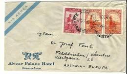 =Argentina  1950 Brief Nach Austria - Luftpost