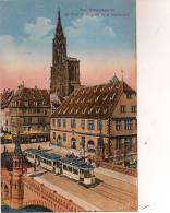 12 / 8 / 344 -    STRASBOURG  - LE PONT DU CORBEAU - Strasbourg