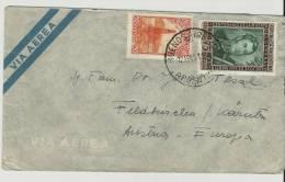 =Argentina  1951 Brief Nach Austria - Luftpost