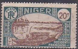µ12 -  NIGER -  N° 35 - OBLITERE