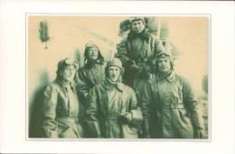 Group Of Pilots: G.Straube, B.Chuhnovsky, A.Alekseev, V.Fedotov, A.Shelagin - Russia