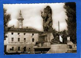 ITALIE  PORDENONE TORRE E MONUMENTO AI CADUTI CARTE PHOTO RARE - Italia