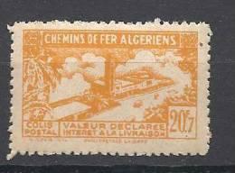 N° 118 SANS CONTROLE DES RECETTES NEUF** TTB - Algérie (1924-1962)