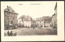 BELLE C.P.A - THANN  Theobaldusbrunnen. - Cachet Impérial Allemand Et Cachet Français - WW1 - MILITARIA - Thann