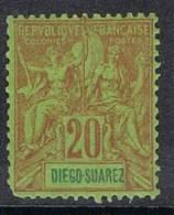DIEGO-SUAREZ N°44 N* - Unused Stamps