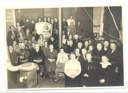 LIEGE - Lot De 3 Photos Carte Dun Souper De L'Armée Du Salut En 1954 (751)b99 - Liège