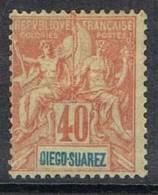 DIEGO-SUAREZ N°47 NSG - Unused Stamps