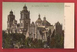 Q0378 Mexico La Catedral Y El Sagrario, Pioneer, Non Circulé. - Mexiko