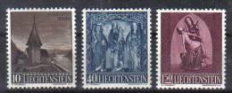 LIECHTENSTEIN  Xx  1957  MI 362/64   Vedi  Foto ! - Liechtenstein