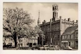 KYRITZ - Rathaus - Postnebenstempel: Schönermark über Neustadt (Dosse)  - Poststellen-Stempel - Deutschland