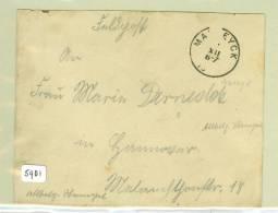 VELDPOST * FELDPOST * BRIEFOMSLAG Uit MAASEYCK Naar  DUITSLAND * WWI (5981) - Postmark Collection