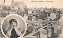 LIMOGES - Un Baiser Du LIMOUSIN - Correspondance Militaire - Excellent état - Limoges