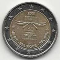 2 Euros Commémoratifs Belgique 2008 - Belgique