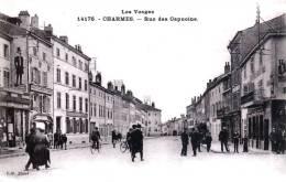 CHARMES-sur-MOSELLE - La Rue Des Capucins - La Société Générale Au N° 4 - Très Beau Plan Animé - Charmes