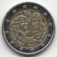 2 Euros Commémoratifs Belgique 2011 Année De La Femme - Belgique