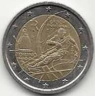 2 Euros Commémoratifs Italie 2006 Jeux Olympiques De Turin - Italie