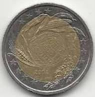 2 Euros Commémoratifs Italie 2004 Programme D'alimentation - Italie
