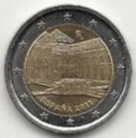 2 Euros Commémoratifs Espagne 2011 - Espagne