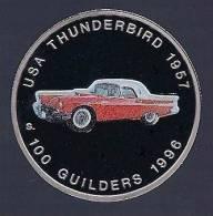 Surinam / Suriname 1996 100 Gulden Thunderbird 1957 - Monedas & Billetes
