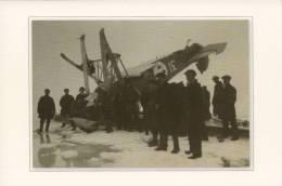 Crew Of Icebreaker Krasin Near Crashed Lundborg's Plane - Russia