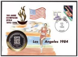 Surinam / Suriname 1996 100 Gulden Discusthrower Runner - Munten & Bankbiljetten