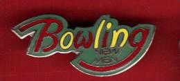 24175-pin´s Bowling.new Man.signé Saggay - Bowling