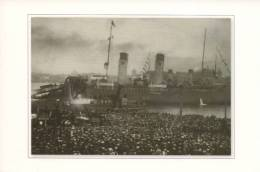 200 000 Have Come To Meet Icebreaker Krasin In Leningrad On October 5, 1928. - Russia