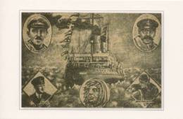 Postcard Issued After Icebreaker Krasin´s Expedition - Russia