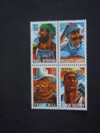 USA Etats-Unis United States 1996 Folk Heroes Sc# 3083-3086 Yv 2525-2528 MNH ** - Neufs