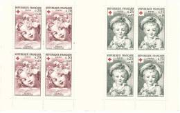 FR1962 Carnet  CROIX ROUGE Tableaux FRAGONARD Cote 47 € - Booklets