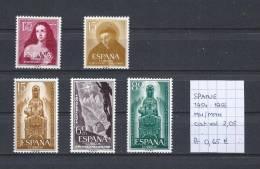 Spanje 1954-1956 - 3 Complete Sets MNH/MH - 1931-Aujourd'hui: II. République - ....Juan Carlos I