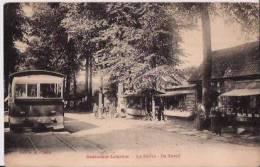 BELGIQUE :OOSTACKER-LOURDES.(Fl.oc Cid.):1926:La Drève.TRAM EN GROS PLAN. - Belgique