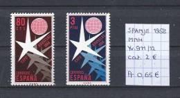 Spanje 1958 - YT 911/12 Postfris/neuf/MNH - 1931-Aujourd'hui: II. République - ....Juan Carlos I