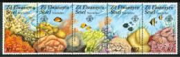 1986 Zil Elwannyen Sesel - Seychelles Fauna Marina Marine Life Pesci Fishes Fische Poissons Set MNH** Po11 - - Seychelles (1976-...)