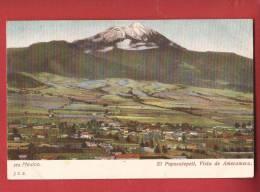 Q0387 Mexico El Popocatepeti, Visa De Amecameca, Pioneer, Non Circulé. - Mexique