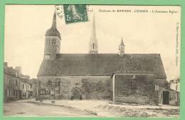 35 Environs De Rennes - CESSON - L'ancienne église - France